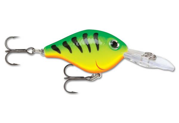 Воблер Rapala Ultra Light Crank ULC 03 FT 4гр 3см 1,2-2,4м